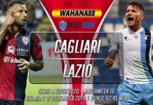 Prediksi Cagliari vs Lazio 17 Desember 2019