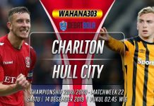 Prediksi Charlton Athletic vs Hull City 14 Desember 2019