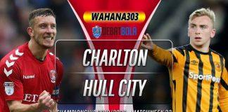 Prediksi Charlton Athletic vs Hull City 14 Desember 2019