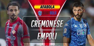 Prediksi Cremonese vs Empoli 3 Desember 2019