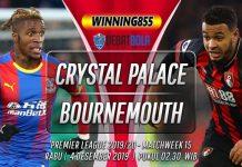 Prediksi Crystal Palace vs Bournemouth 4 Desember 2019