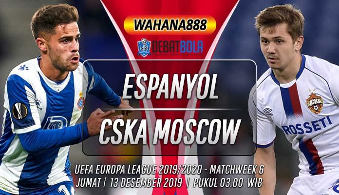 Prediksi Espanyol vs CSKA Moscow 13 Desember 2019