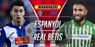 Prediksi Espanyol vs Real Betis 15 Desember 2019