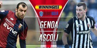 Prediksi Genoa vs Ascoli 4 Desember 2019