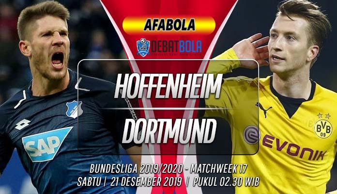 Prediksi Hoffenheim vs Borussia Dortmund 21 Desember 2019