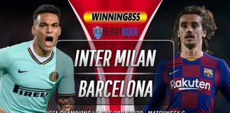 Prediksi Inter Milan vs Barcelona 11 Desember 2019