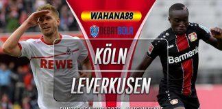Prediksi Koln vs Bayer Leverkusen 14 Desember 2019