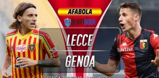 Prediksi Lecce vs Genoa 8 Desember 2019
