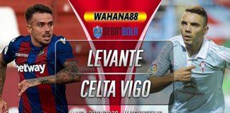 Prediksi Levante vs Celta Vigo 23 Desember 2019
