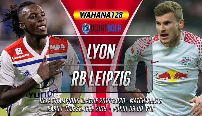 Prediksi Lyon vs RB Leipzig 11 Desember 2019