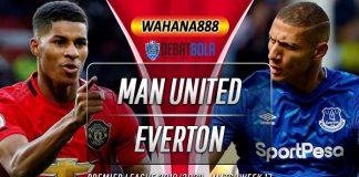 Prediksi Manchester United vs Everton 15 Desember 2019