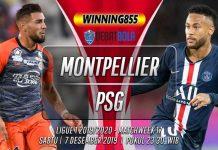 Prediksi Montpellier vs PSG 7 Desember 2019