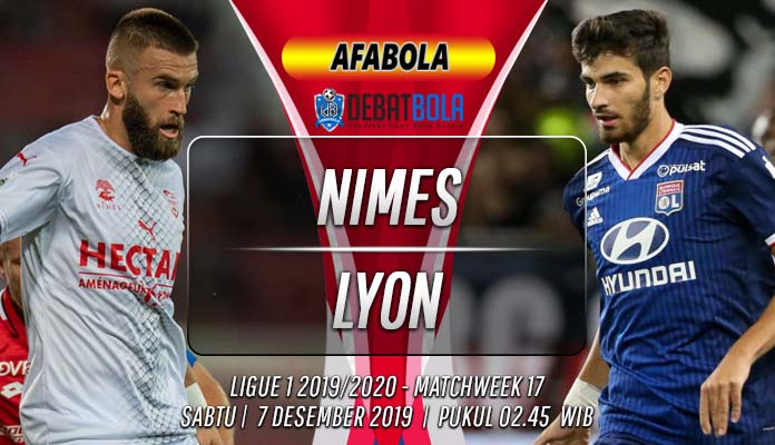 Prediksi Nimes vs Lyon 7 Desember 2019