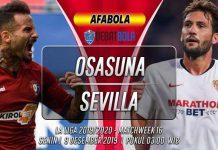 Prediksi Osasuna vs Sevilla 9 Desember 2019