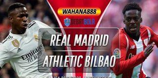 Prediksi Real Madrid vs Athletic Bilbao 23 Desember 2019