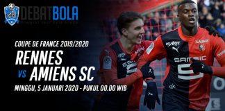 Prediksi Rennes vs Amiens 5 Januari 2020