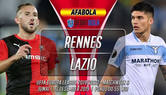 Prediksi Rennes vs Lazio 13 Desember 2019
