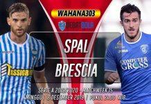 Prediksi SPAL vs Brescia 8 Desember 2019