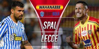 Prediksi SPAL vs Lecce 5 Desember 2019