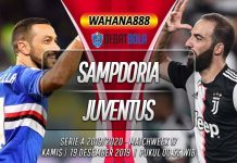 Prediksi Sampdoria vs Juventus 19 Desember 2019