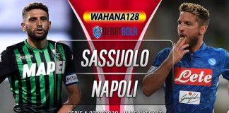 Prediksi Sassuolo vs Napoli 23 Desember 2019