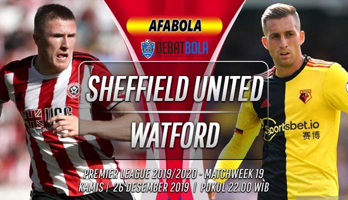 Prediksi Sheffield United vs Watford 26 Desember 2019