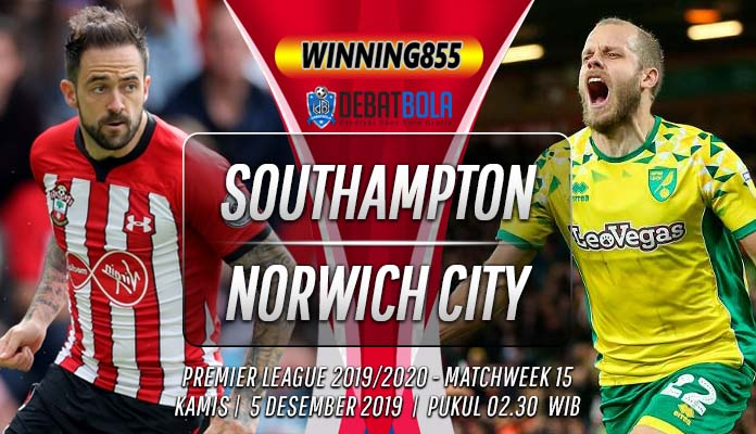 Prediksi Southampton vs Norwich 5 Desember 2019