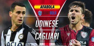 Prediksi Udinese vs Cagliari 21 Desember 2019