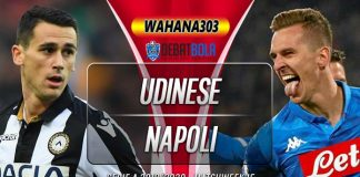 Prediksi Udinese vs Napoli 8 Desember 2019