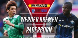 Prediksi Werder Bremen vs Paderborn 9 Desember 2019