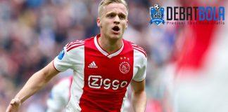 Diincar Banyak Klub, Van de Beek Belum Mau Tinggalkan Ajax