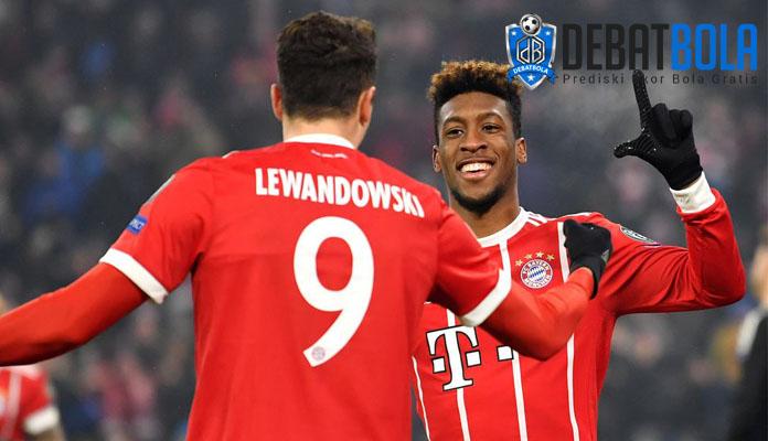Lewandowski and Coman Bayern Munchen