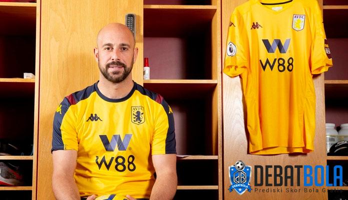Pepe Reina Resmi Bergabung ke Aston Villa
