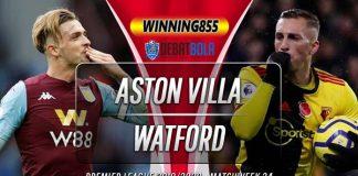 Prediksi Aston Villa vs Watford 22 Januari 2020