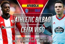 Prediksi Athletic Bilbao vs Celta Vigo 20 Januari 2020