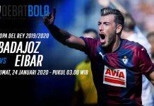 Prediksi Badajoz vs Eibar 24 Januari 2020