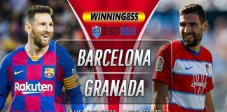Prediksi Barcelona vs Granada 20 Januari 2020