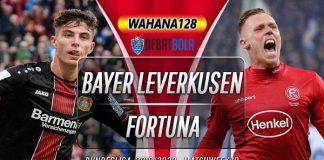 Prediksi Bayer Leverkusen vs Fortuna Dusseldorf 27 Januari 2020