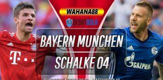 Prediksi Bayern Munchen vs Schalke 04 26 Januari 2020