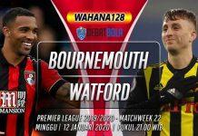 Prediksi Bournemouth vs Watford 12 januari 2020