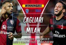 Prediksi Cagliari vs Milan 11 Januari 2020