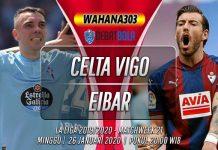 Prediksi Celta Vigo vs Eibar 26 Januari 2020