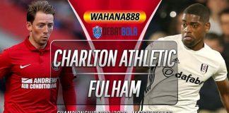 Prediksi Charlton Athletic vs Fulham 23 Januari 2020
