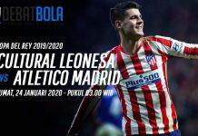Prediksi Cultural Leonesa vs Atletico Madrid 24 Januari 2020