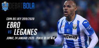 Prediksi Ebro vs Leganes 24 Januari 2020