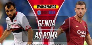 Prediksi Genoa vs Roma 20 Januari 2020