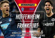 Prediksi Hoffenheim vs Eintracht Frankfurt 18 Januari 2020