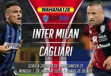 Prediksi Inter Milan vs Cagliari 26 Januari 2020