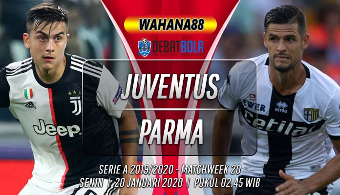 Prediksi Juventus vs Parma 20 Januari 2020
