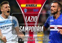 Prediksi Lazio vs Sampdoria 18 Januari 2020